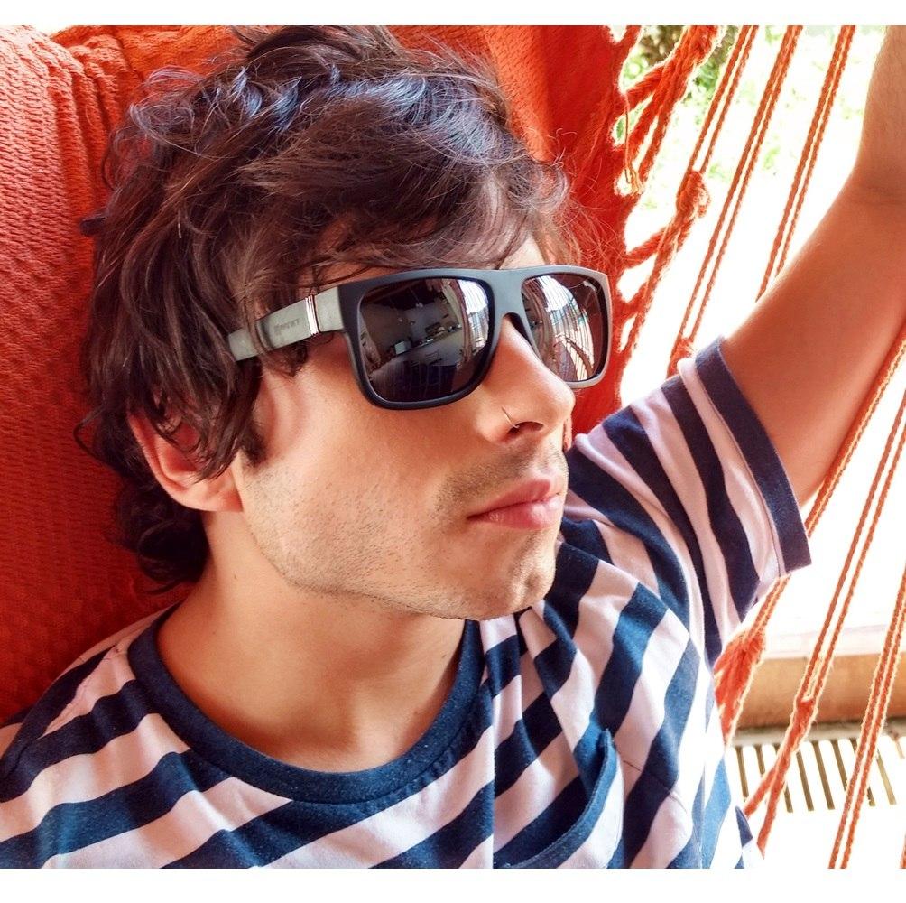 922567c6de2c5 óculos de sol lente uva sport cinza preto garnet original. Carregando zoom.