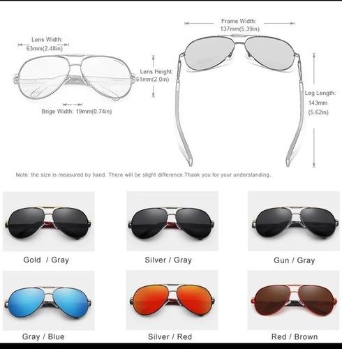 óculos de sol lentes polarizadas kingseven original c.09