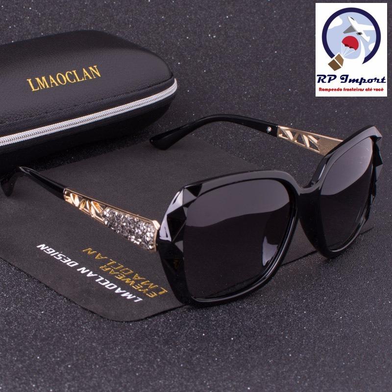 b040e7ed39276 óculos de sol lmaoclan luxury marrom preto roxo polarizado. Carregando zoom.