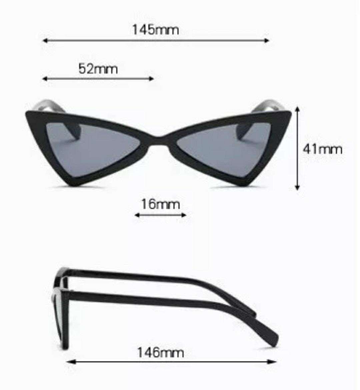 82d8cb8648eeb óculos de sol lolita gatinho anos 90 estiloso retro vintage. Carregando  zoom.
