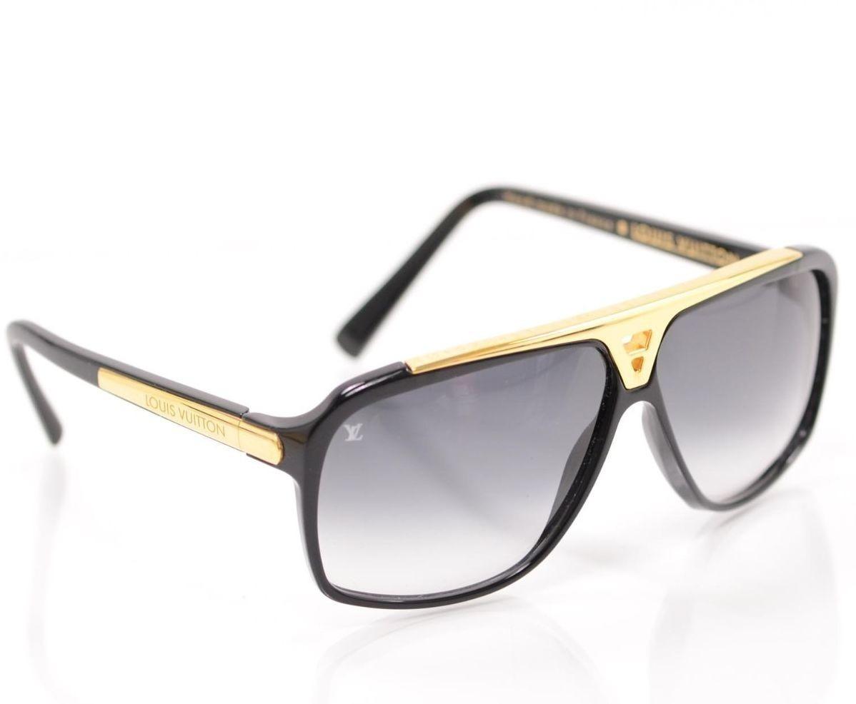 ca93b0c88 Óculos De Sol Louis Vuitton Evidence 2013 - R$ 785,00 em Mercado Livre