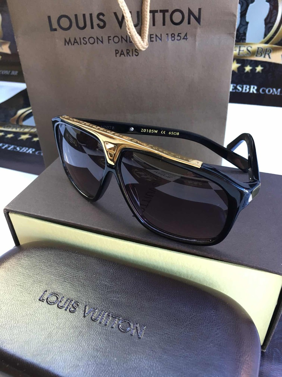 427eb11d8 óculos de sol louis vuitton evidence original com caixa. Carregando zoom.