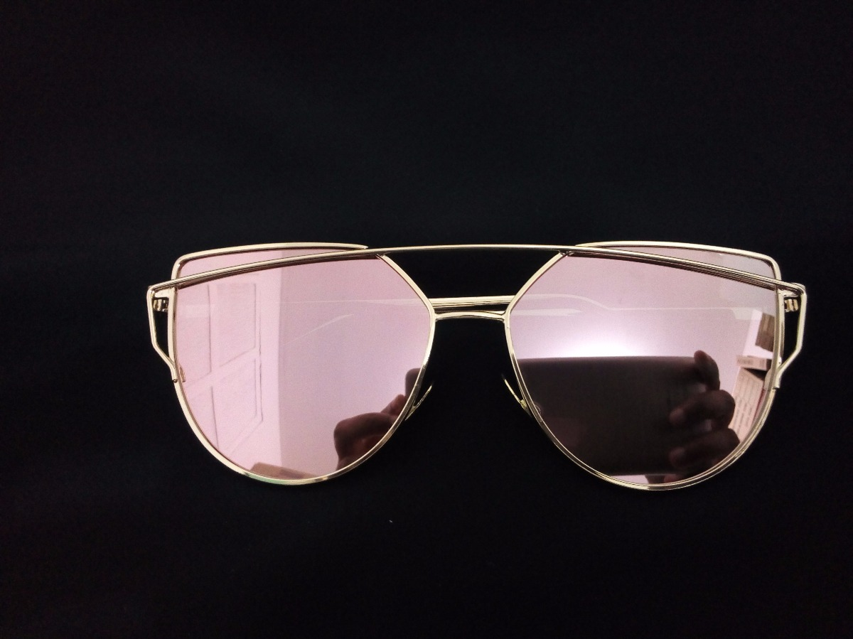 79746f37a275d óculos de sol love punch gatinha reflexivo rosa feminino. Carregando zoom.
