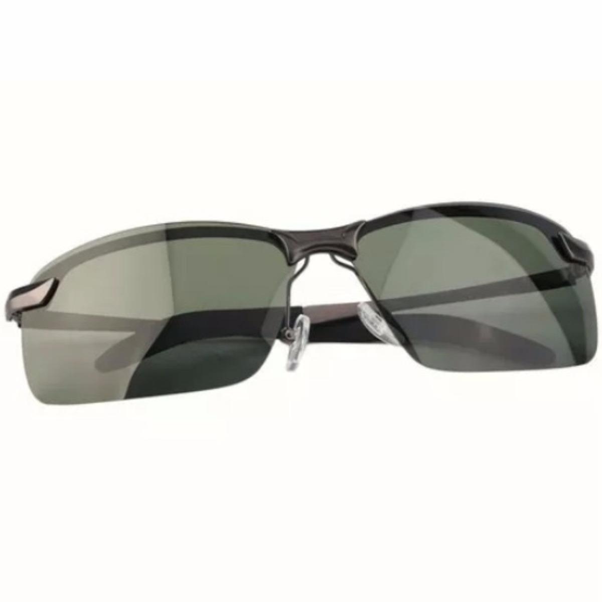 5b75870b539d7 óculos de sol luxo armação de metal cinza lentes polarizadas. Carregando  zoom.