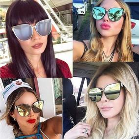 8fe7a3616 Oculos De Sol Feminino Para Rosto Curto - Óculos no Mercado Livre Brasil