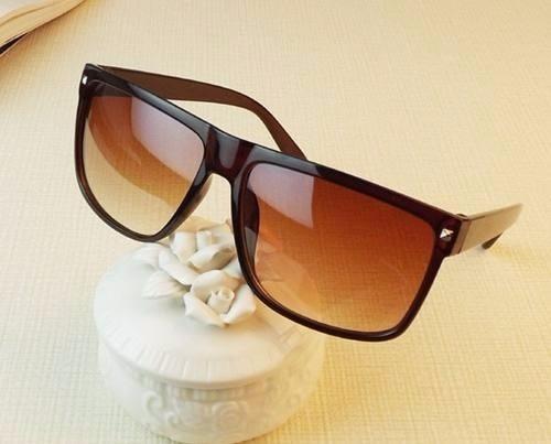 a1f928767 Óculos De Sol Luxo Marrom Mulher Homem Unissex Frete Gratis - R$ 93 ...