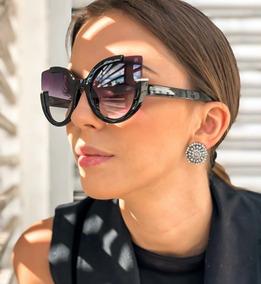 96b862c9f Oculos De Sol Modelos Atuais Feminino - Óculos no Mercado Livre Brasil