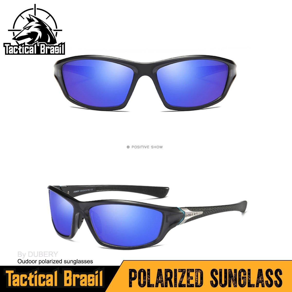 a0fa97536a270 óculos de sol maculino polarizado hd uv400 dubery mazarine. Carregando zoom.