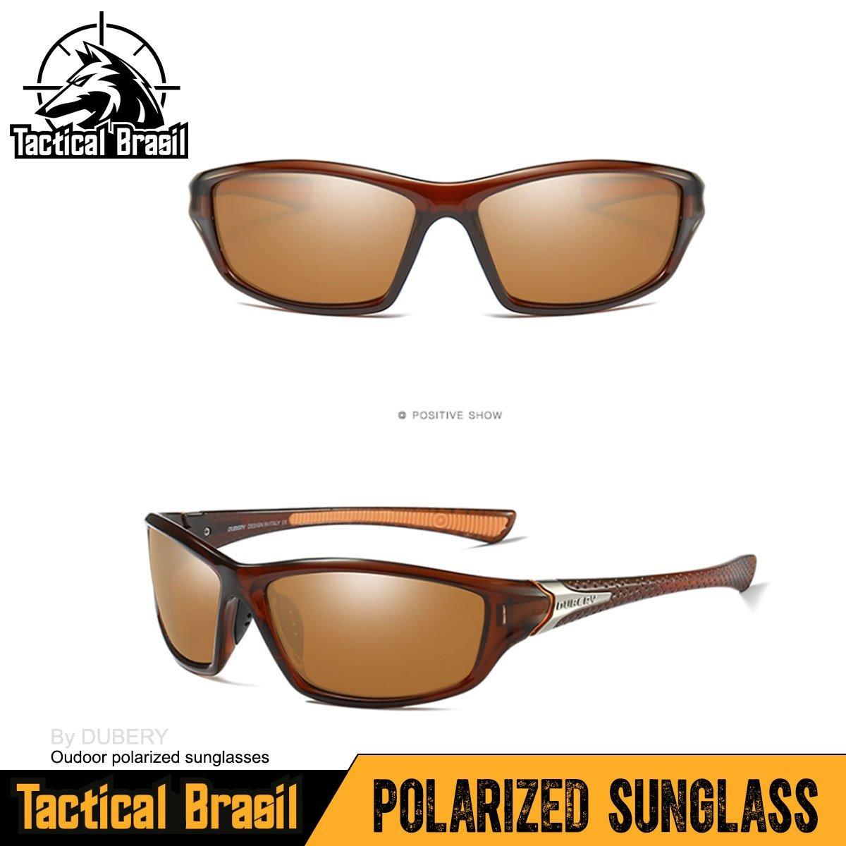 2769c8fe8c91a Óculos De Sol Maculino Polarizado Hd Uv400 Dubery Tea - R  120,00 em ...