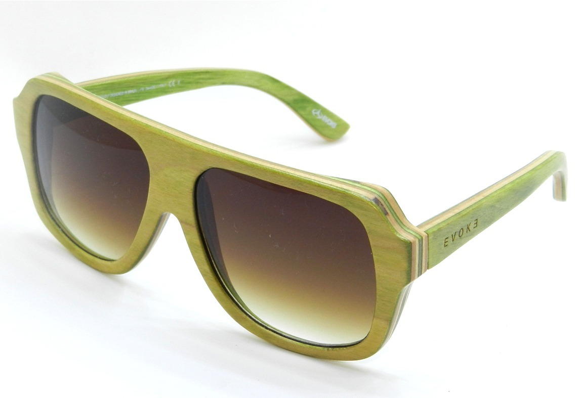 3731fd8bc3146 Óculos De Sol Maple Collection - Army Green  Grey Degradê - R  298 ...