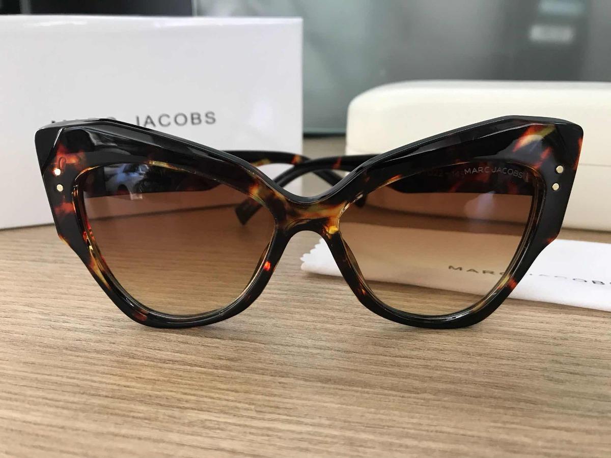Óculos De Sol Marc Jacobs Mj Tartaruga - R  259,99 em Mercado Livre 73b8120529