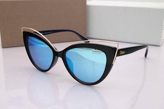 Óculos De Sol Marca Dior 359 Mulher Moda Praia+ Acessórios - R  258 ... 83e9c241f5