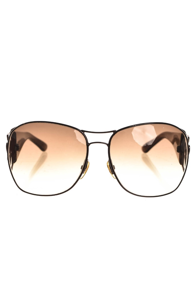 9683a837bdc27 Óculos De Sol Marrom Brasão Feminino Gucci Original - R  539,90 em ...
