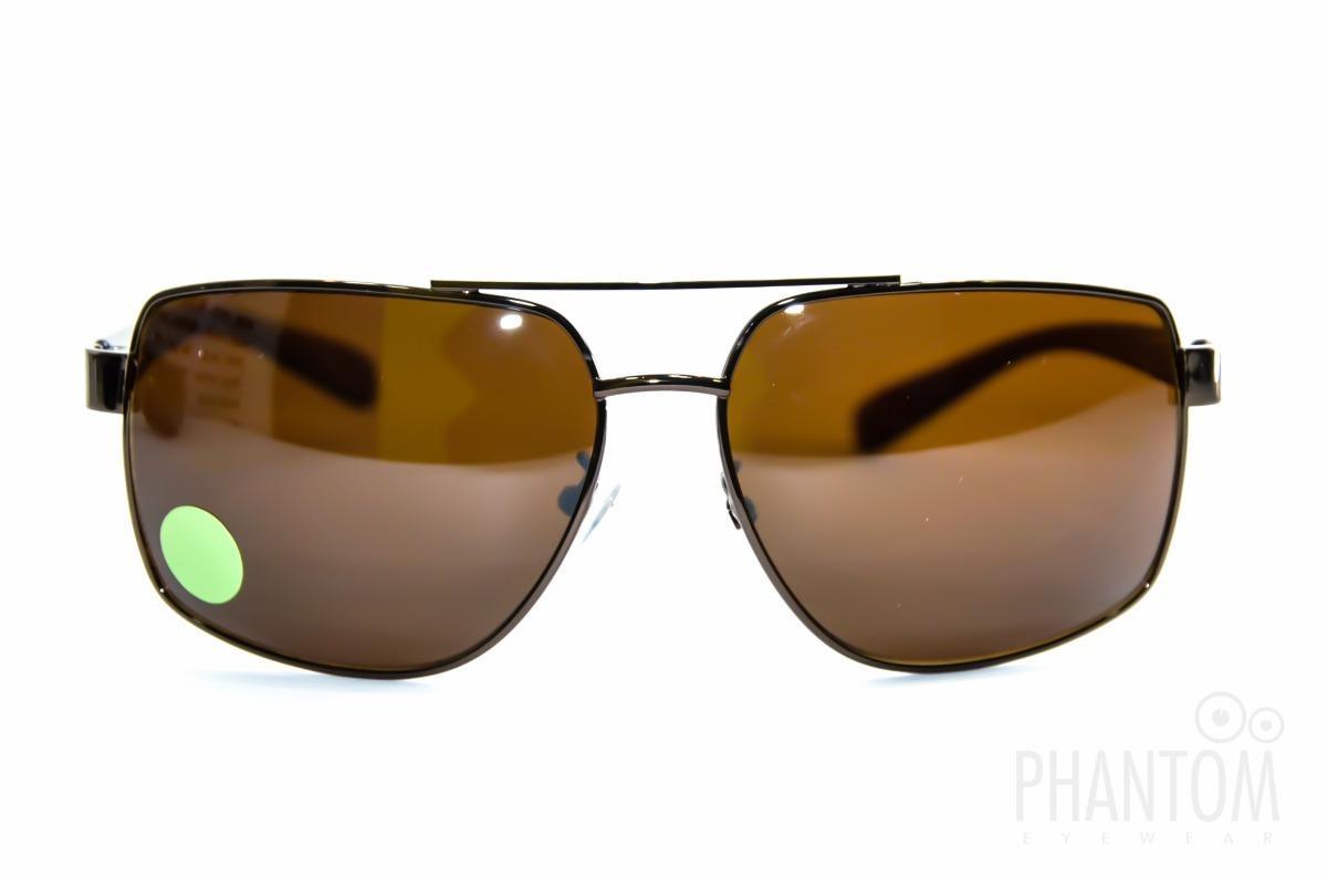 9c5744fa6f0c7 oculos de sol marron grande lente bem escura unisex aviador. Carregando  zoom.