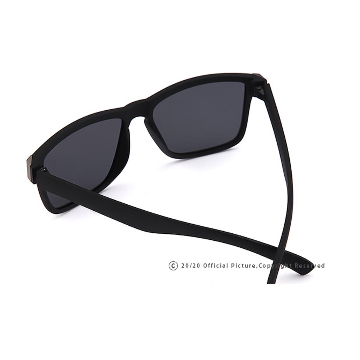 Oculos De Sol Masculino 20 20 Preto Espelhado Oculos Redondo - R  52 ... d86e1b8e4b
