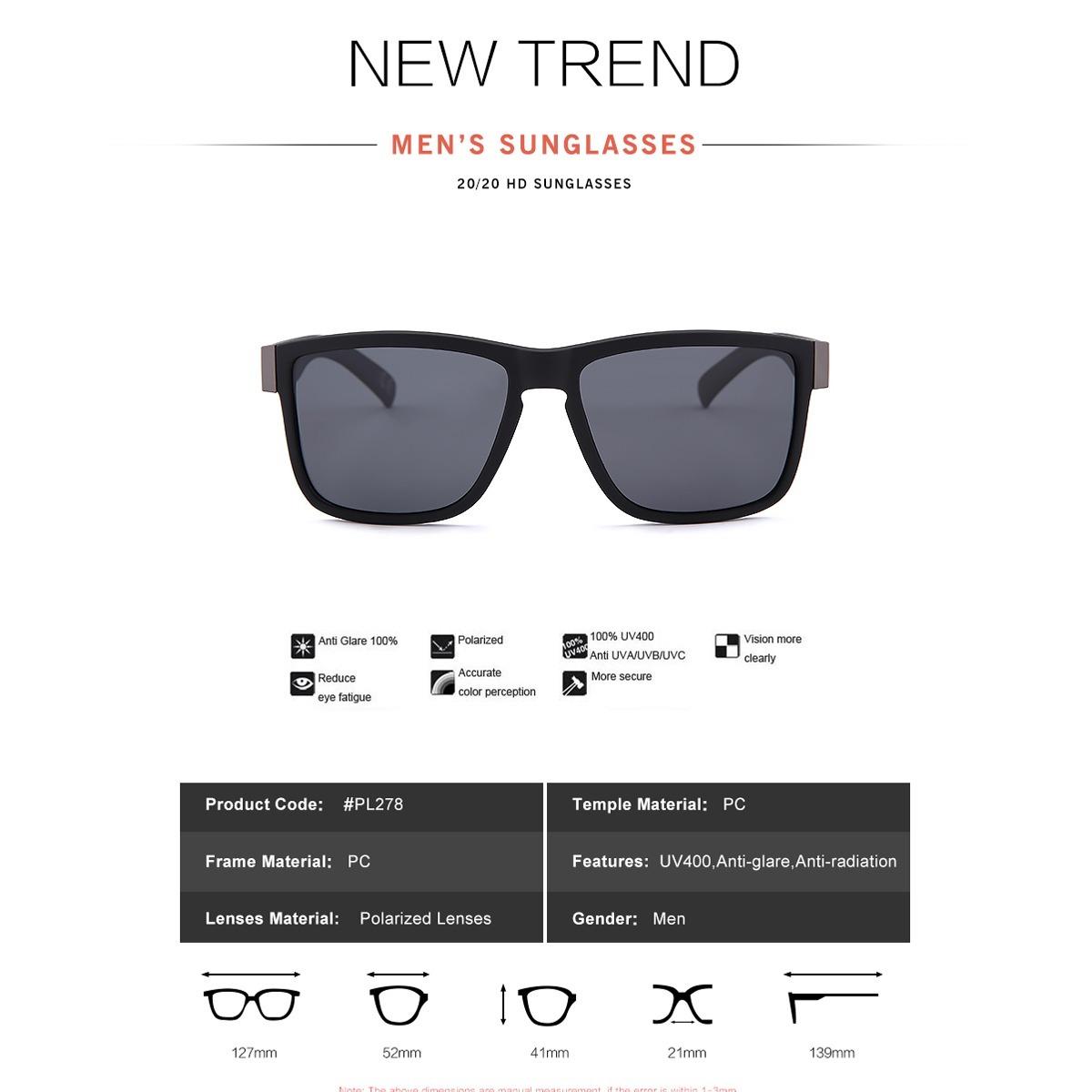 ca8f5c37f Oculos De Sol Masculino 20/20 Preto Espelhado Oculos Redondo - R$ 51 ...
