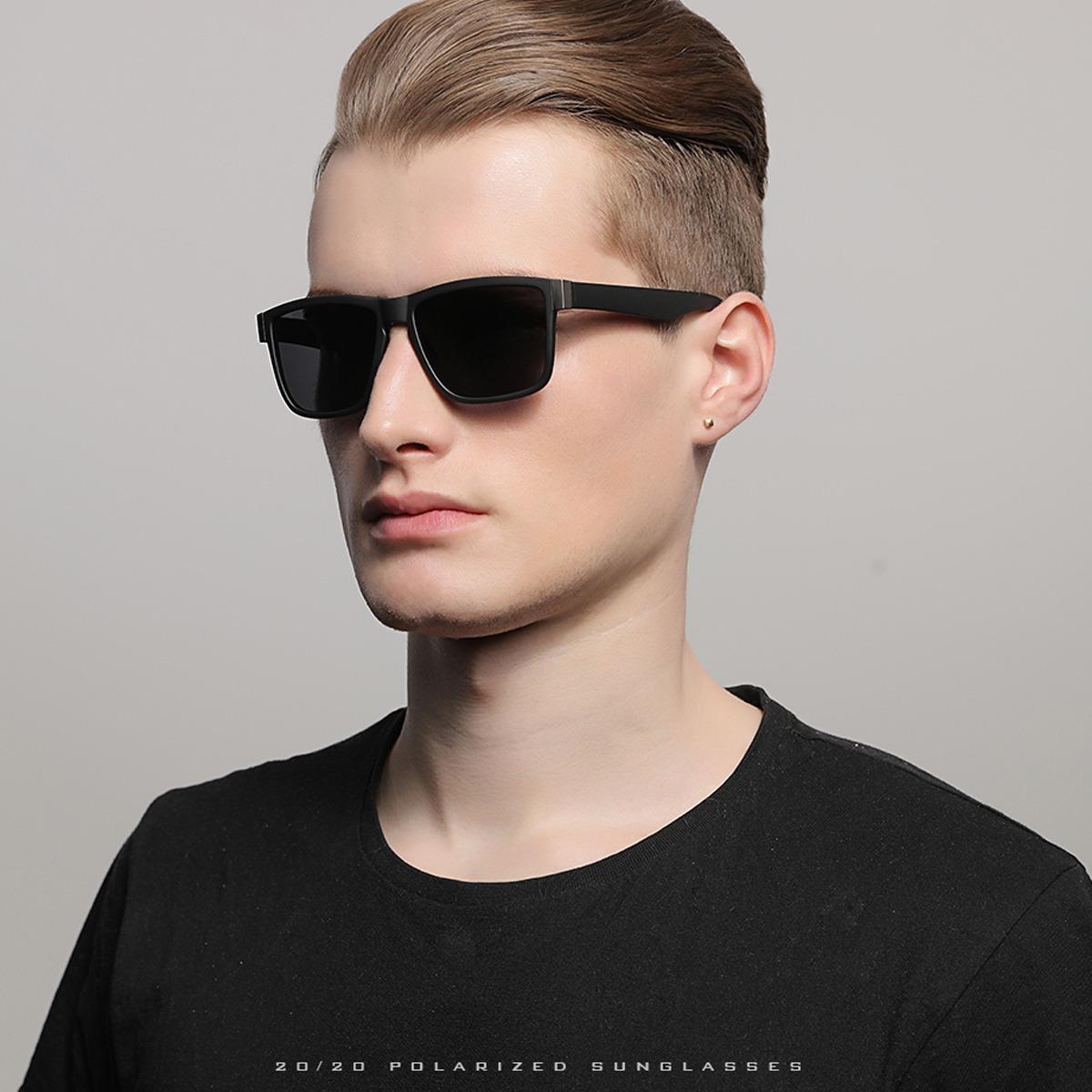 Oculos De Sol Masculino 20 20 Preto Espelhado Oculos Redondo - R  51 ... d5b0b47de0