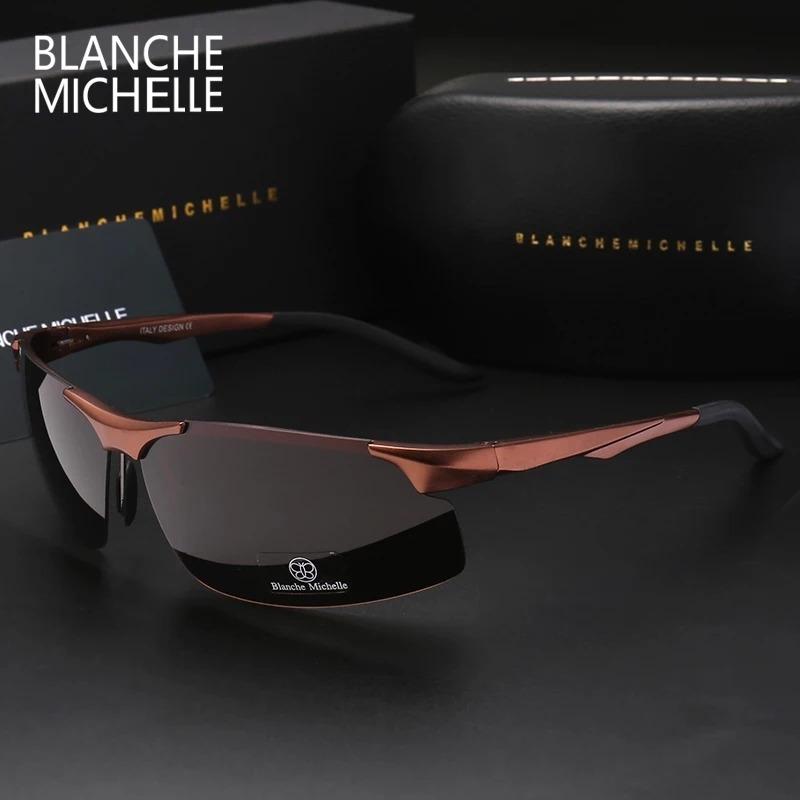 52b5ca8c1 óculos de sol masculino aluminio lente polarizada uv 400. Carregando zoom.