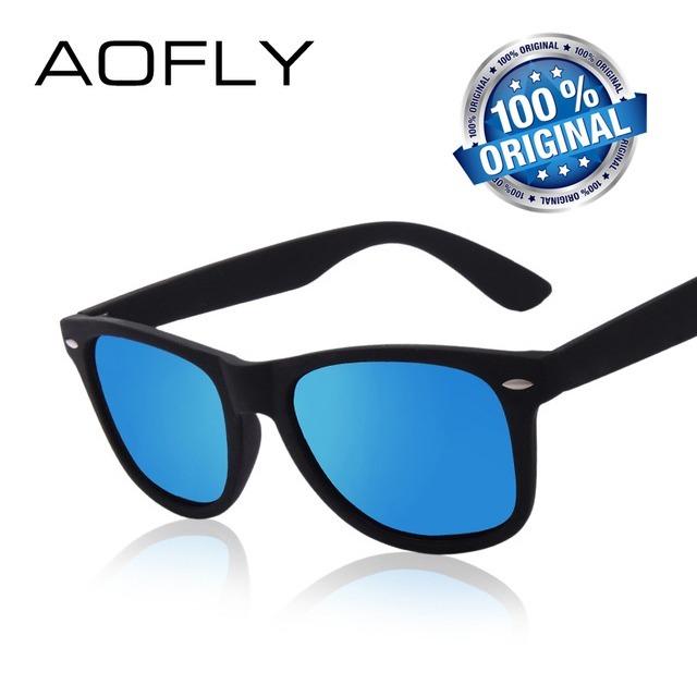 08ab230061a87 Óculos De Sol Masculino Aofly Polarizado Original Barato - R  37