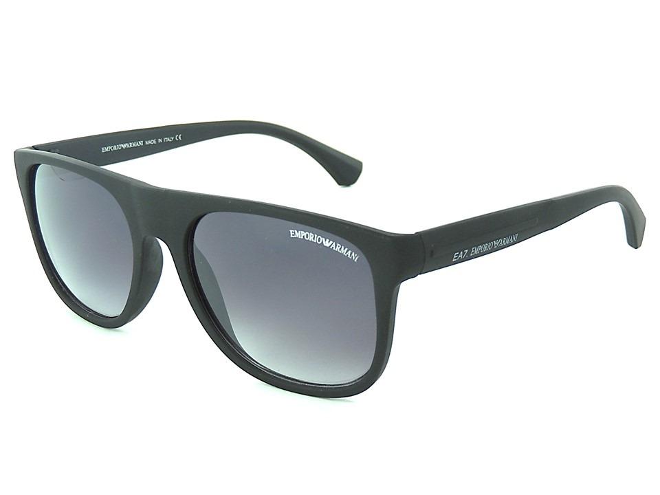 óculos de sol masculino armani ea7 preto proteção uv400. Carregando zoom. cb0bb46a5c