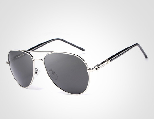Óculos De Sol Masculino Aviador 100% Lentes Polarizado!! - R  134,99 ... 749a21381a