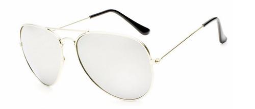 ee4615de3 Óculos De Sol Masculino Aviador Espelhado Barato - R$ 27,00 em ...