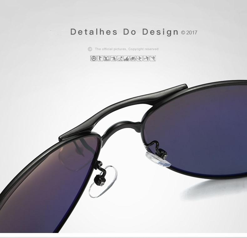 Óculos De Sol Masculino Aviador Hdcrafter Uv400 Promoção - R  75,00 ... 50adc25f9f