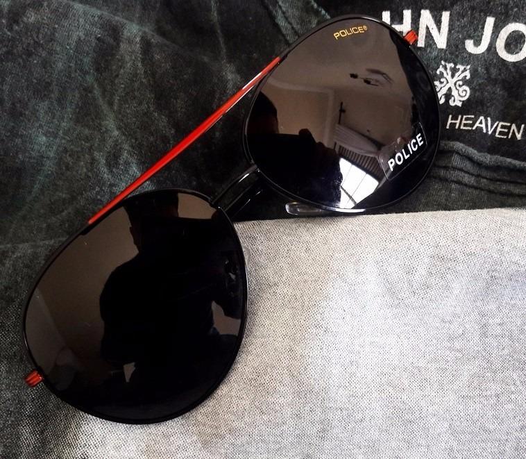 Óculos De Sol Masculino Aviador Polarizado Proteção Uv Novo - R  159 ... d31ba5676d