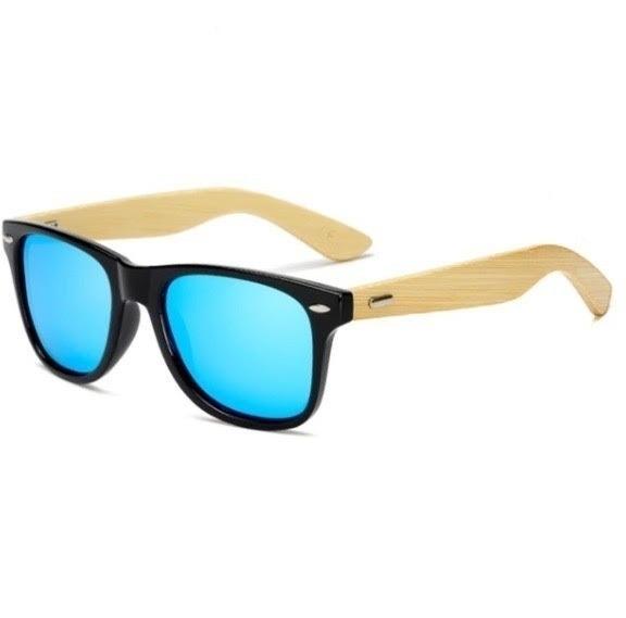 075d35454d6ad Óculos De Sol Masculino Bambu Bamboo Uv400 Barato - R  29,00 em ...
