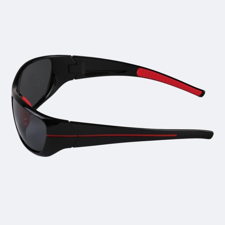 Óculos De Sol Masculino Basico Preto E Vermelho Proteção Uv - R  120 ... 7f41c15c8a