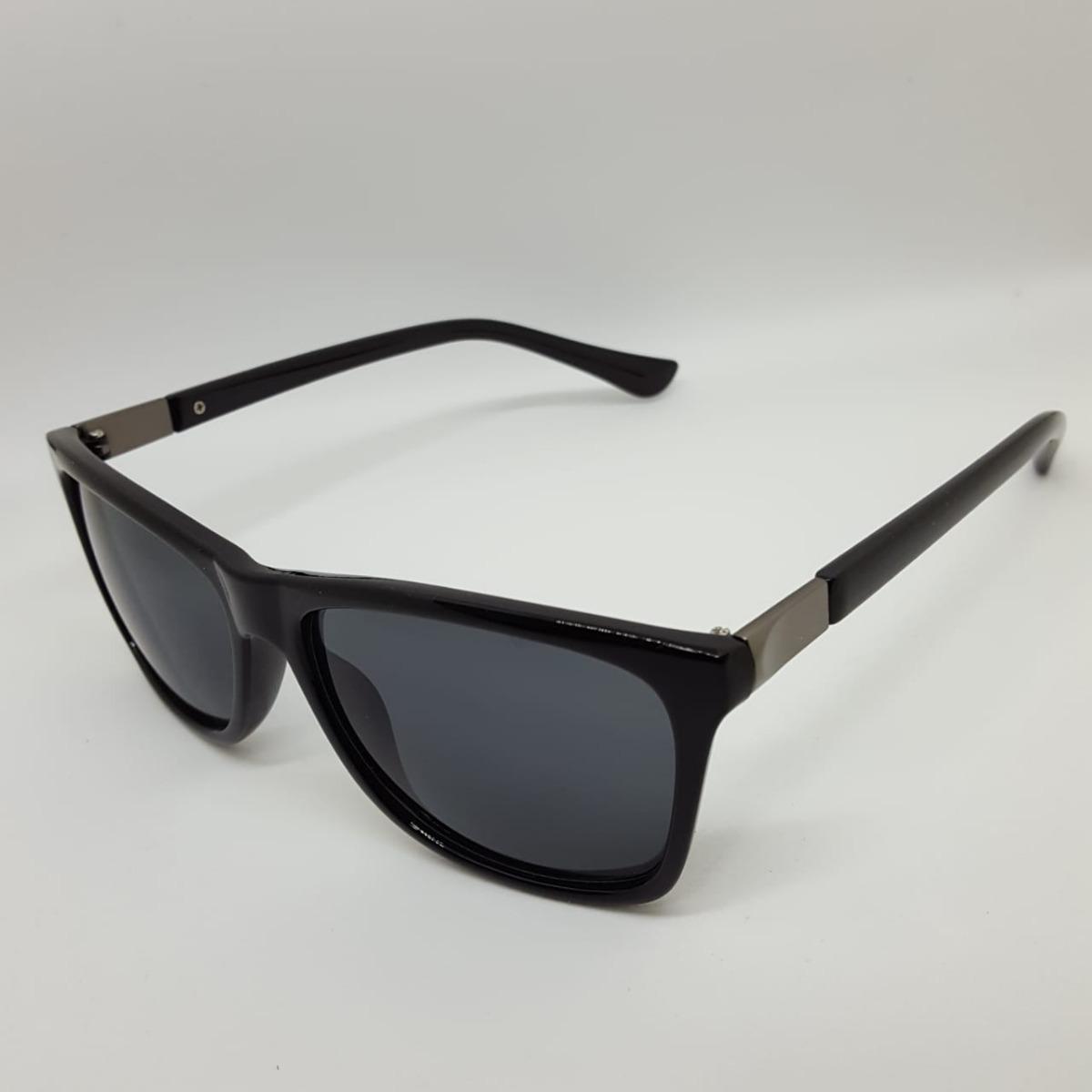 8745edc14 Óculos De Sol Masculino Black Proteção Uv-400 Super Barato - R$ 120 ...