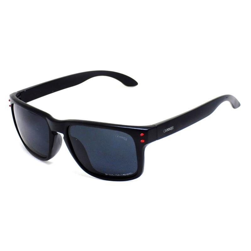 930b43b081ccf óculos de sol masculino cannes 009102 t 40 c preto fosco. Carregando zoom.