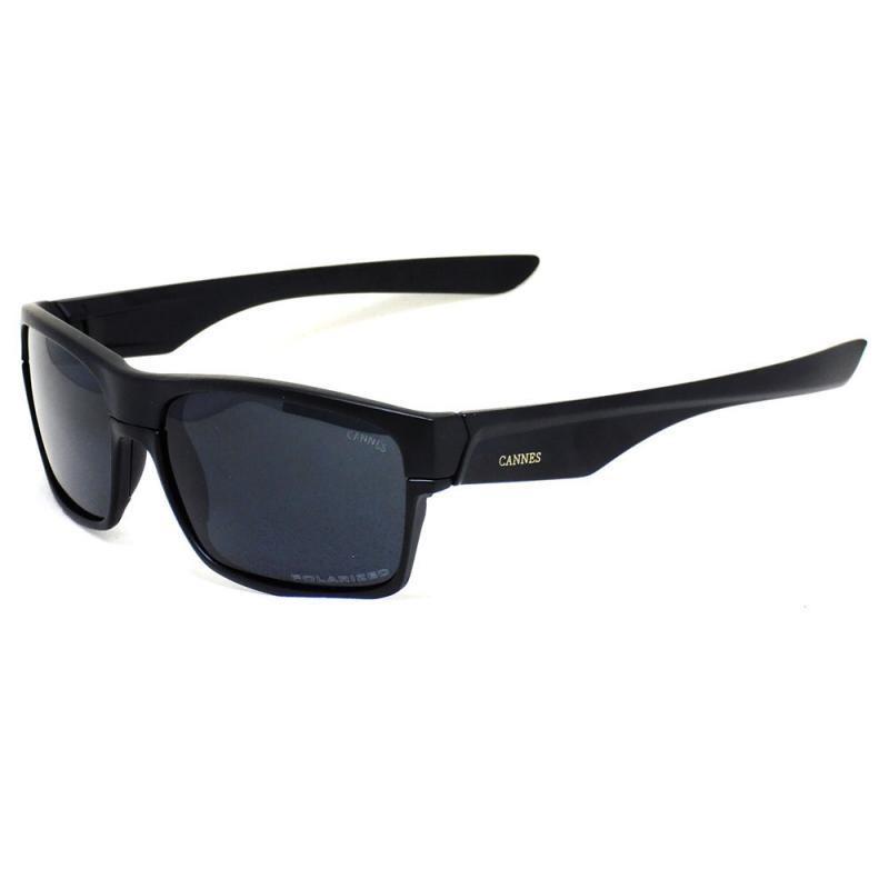 e730ce8db óculos de sol masculino cannes 009189 t u c preto polarizado. Carregando  zoom.