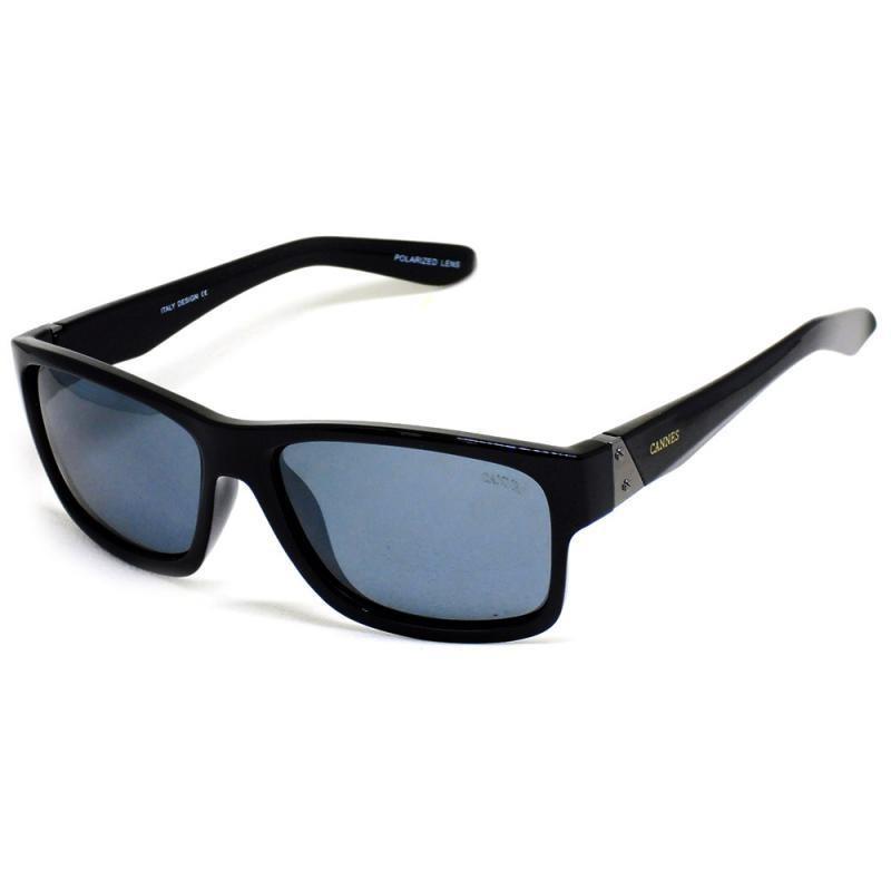 1917357765d7a óculos de sol masculino cannes 9085 t 57 c preto fosco. Carregando zoom.