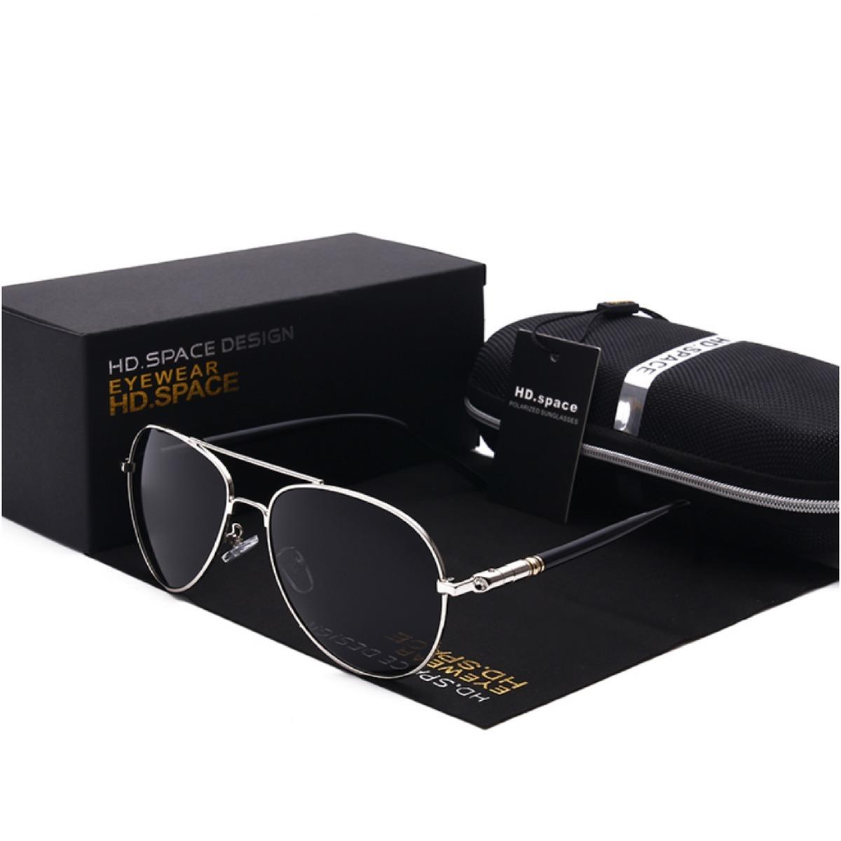 9cc627da9 Óculos De Sol Masculino Casual Dos Homens Pilotos - R$ 207,87 em ...