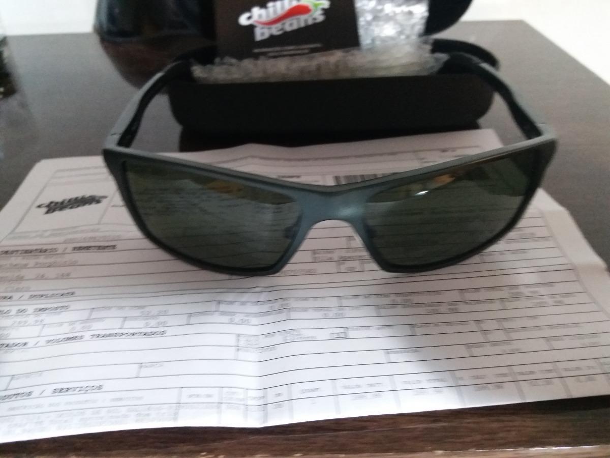 ca98bdf6f óculos de sol masculino chilli beans grafite(usado 2 vezes). Carregando zoom .