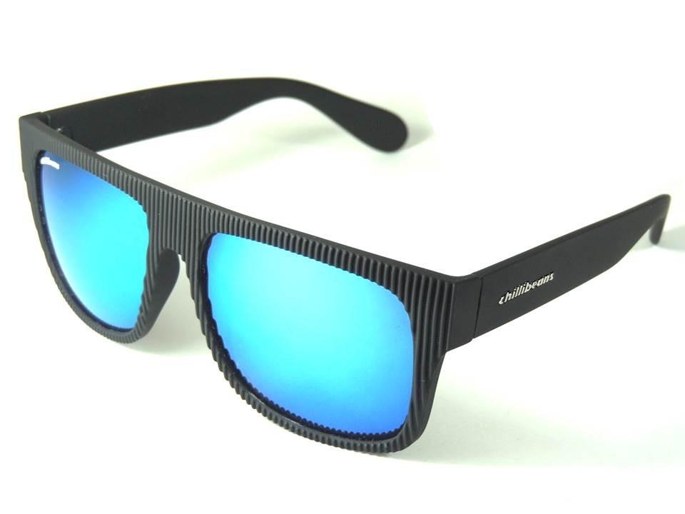 faef2739aa8f3 óculos de sol masculino chillibeans azul proteção uv400. Carregando zoom.