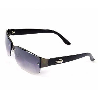 20b0b933bdcf4 Óculos De Sol Masculino Com Proteção Uva Uvb P  Homem Preto - R  45 ...