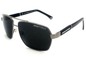 ffd3fbaef Oculos De Sol Masculino Ea3071 Armani Premium Lente Uv400