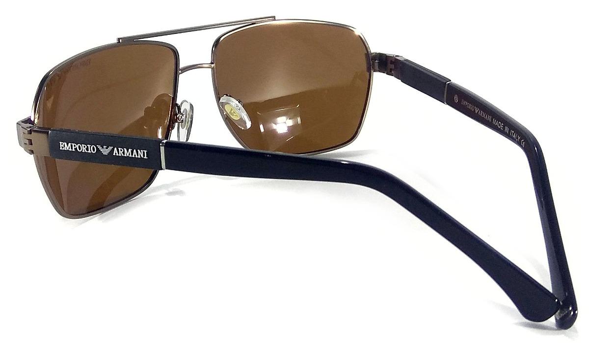oculos de sol masculino ea3073 armani premium lente uv400. Carregando zoom. 7f201ba9f6