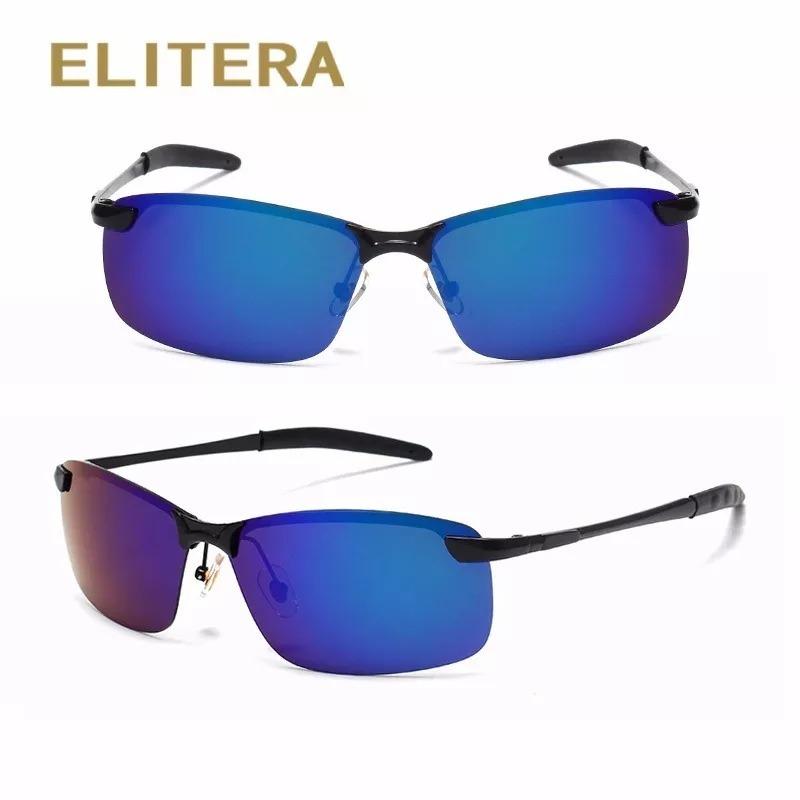 7e9204354f44e óculos de sol masculino esporte polarizado elitera espelhado. Carregando  zoom.