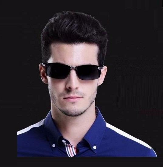 Óculos De Sol Masculino Esportivo Com Lentes Polarizadas - R  121,90 ... 8710c6e1b9