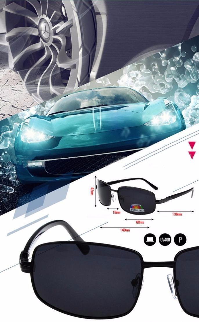 e3e394102e206 óculos de sol masculino esportivo polarizado proteção uv 400. Carregando  zoom.