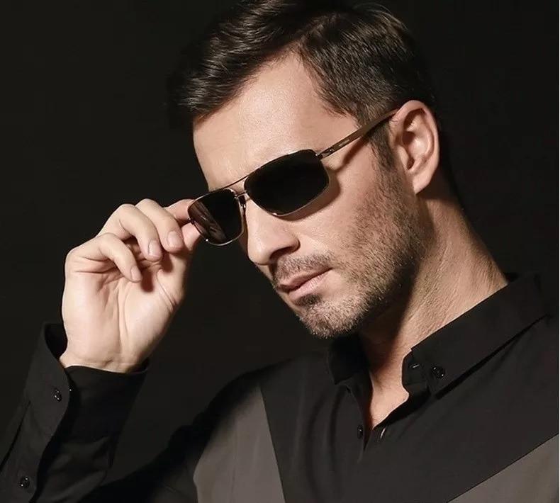 fc104c3b4 Óculos De Sol Masculino Esportivo Social Polarizado - R$ 89,90 em Mercado  Livre