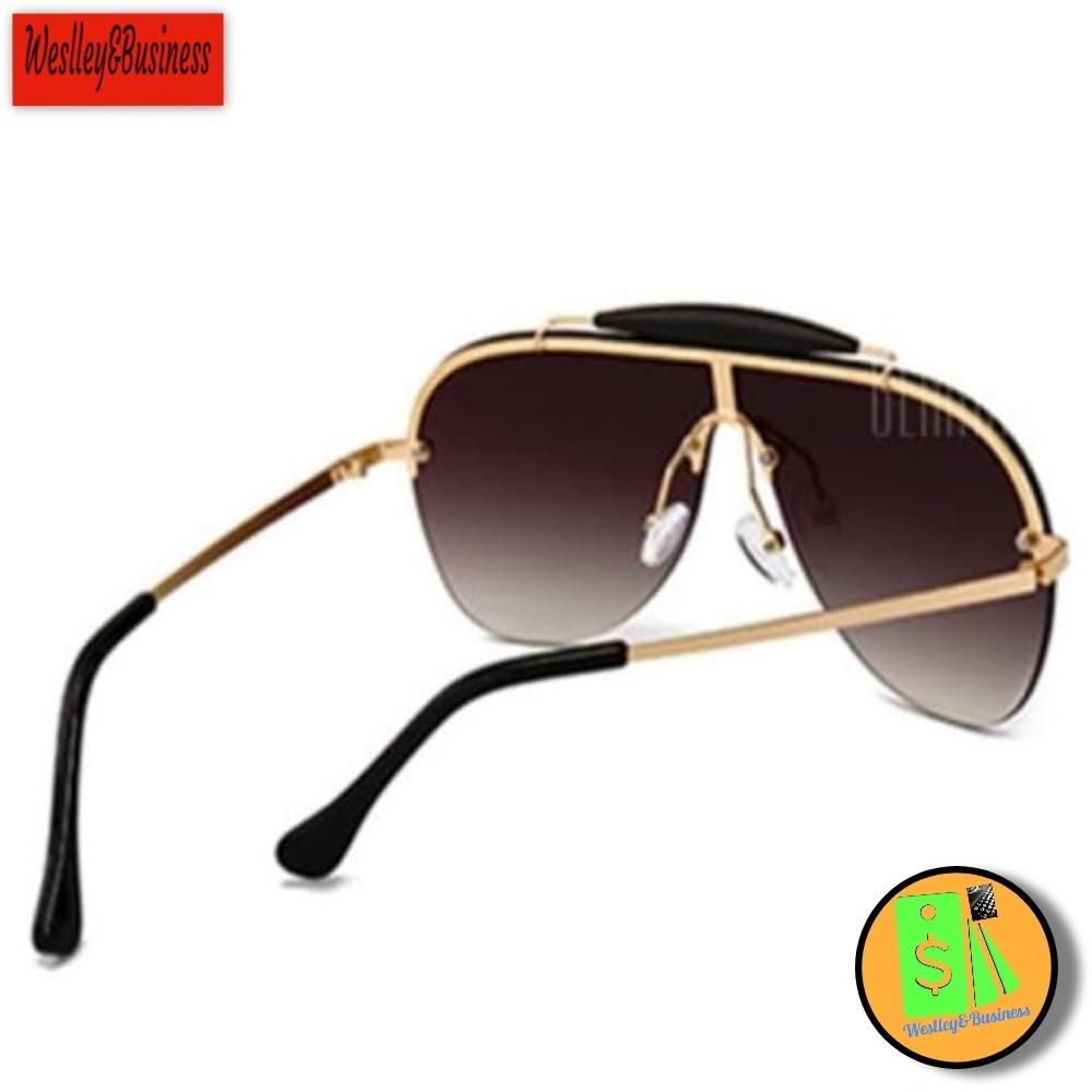 Óculos De Sol Masculino Fashion Marrom Profundo Oc17 - R  120,00 em ... fe21819c91