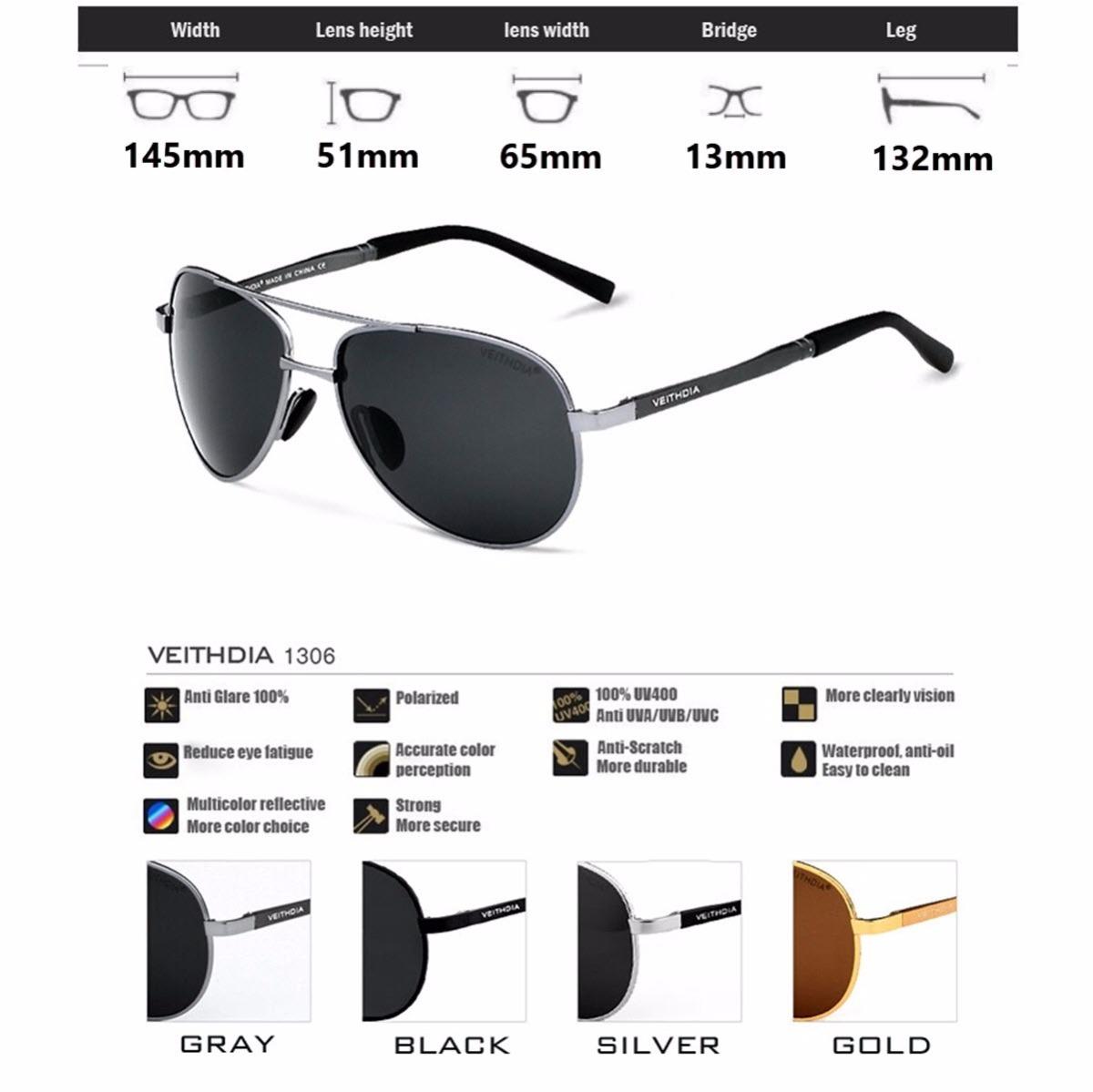oculos de sol masculino feminino aviador original polarizado. Carregando  zoom. 29ec5ddc91