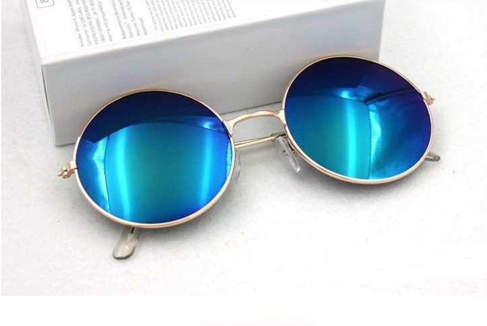 a4ebda165 óculos de sol masculino feminino azul espelhado importado. Carregando zoom.