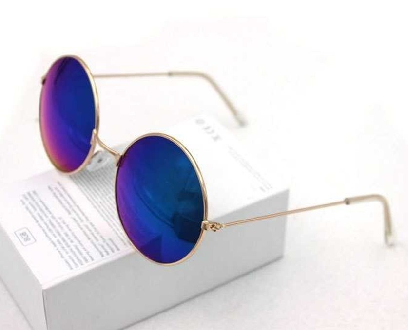 d57d196316243 óculos de sol masculino feminino azul espelhado importado. Carregando zoom.