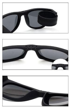 16d063ede3539 Óculos De Sol Masculino Feminino Dobrável Polarizado Slap Up - R  44 ...