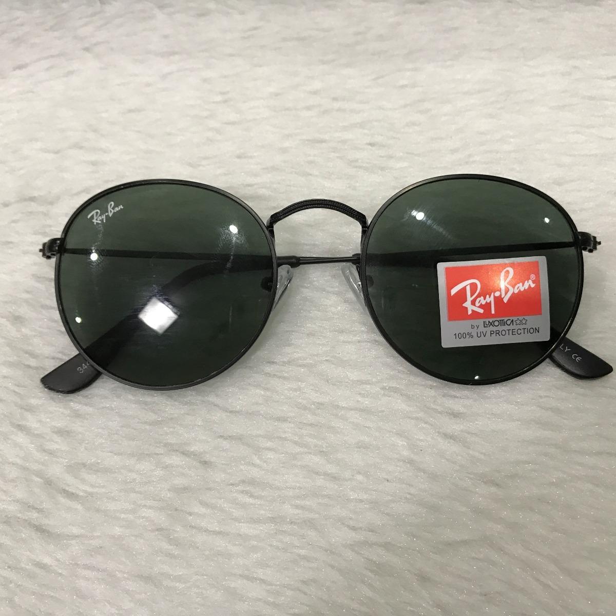 0613fc67b2dbe óculos de sol masculino feminino round redondo retrô vidro. Carregando zoom.